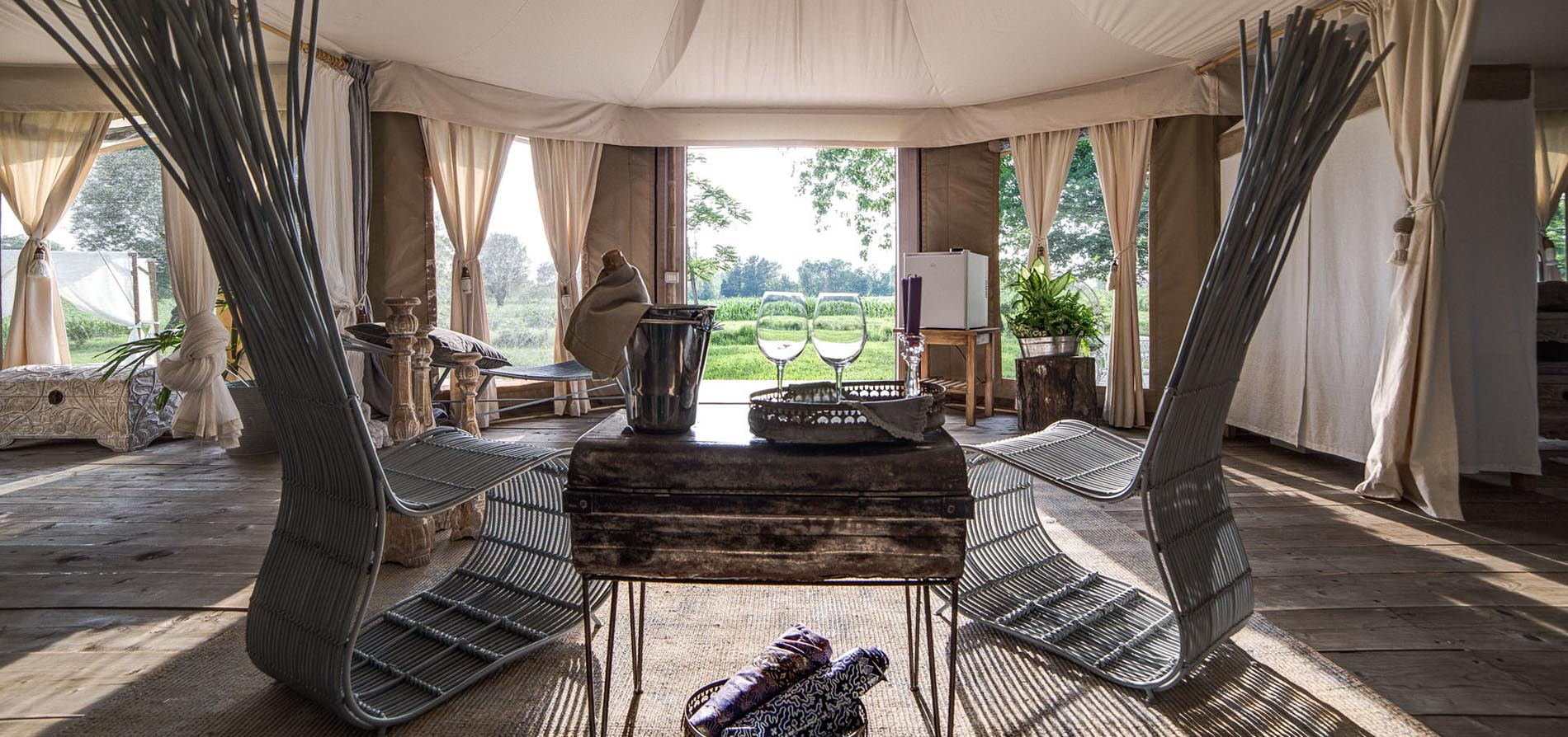 Glamping Canonici Di San Marco Luxury Resort In The